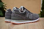Мужские кроссовки New Balance 574, серо-коричневые, замша, фото 8