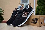Мужские кроссовки New Balance 574, черные, замша, фото 2