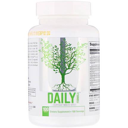 Вітаміни Daily Formula Universal Nutrition 100 tabs, фото 2