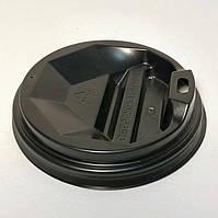 Крышка на бумажный стакан 69 мм Черная