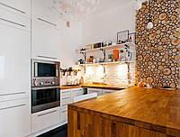 Панно на стену из срезов дерева