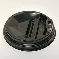Крышка на бумажный стакан 75 мм Черная