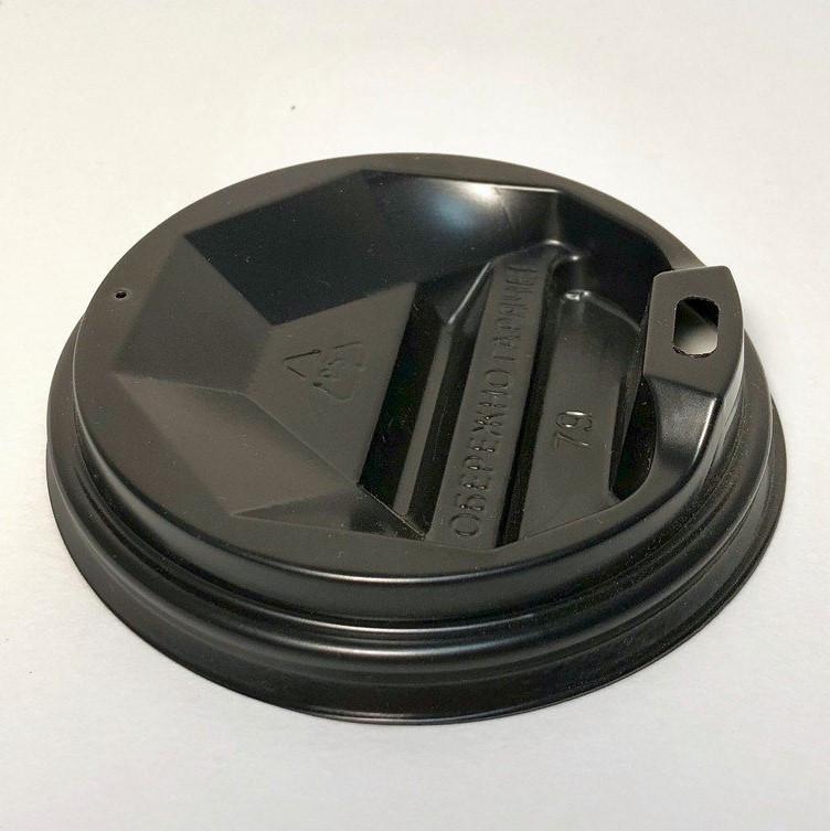 Крышка на бумажный стакан 90 мм Черный