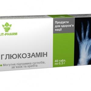 "БАД для суставов ""Глюкозамин"" (80табл.,Украина)"
