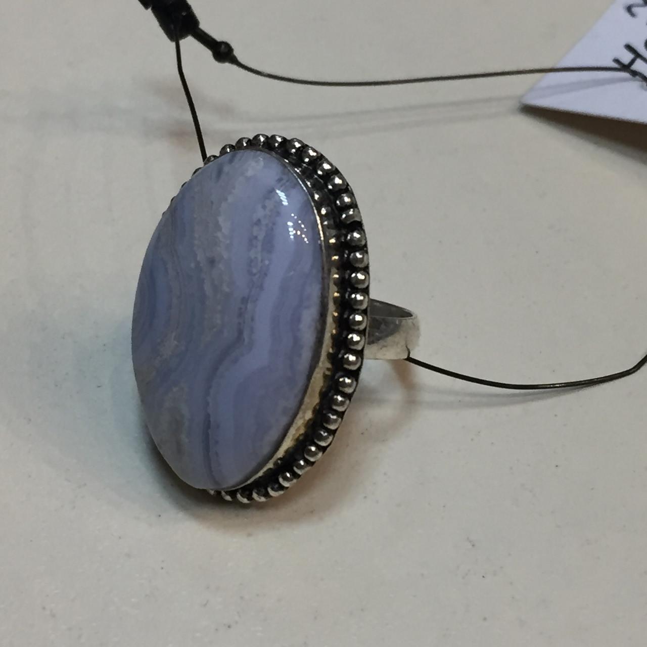 Сапфирин красивое кольцо овал с сапфирином в серебре. Кольцо с сапфирином голубым агатом 18,5 размер Индия
