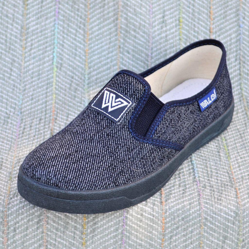 Текстильные туфли на мальчика, Waldi (код 0595) размеры: 36