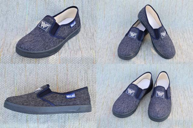 Текстильные туфли на мальчика, Waldi фото