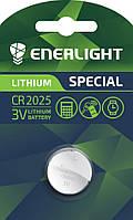 Дисковая батарейка Enerlight Lithium CR 2025 (157mAh)