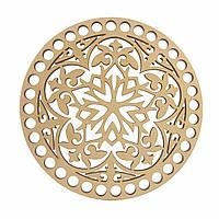 Круглое донышко для вязанных корзин Shasheltoys (100117.12) 12 см