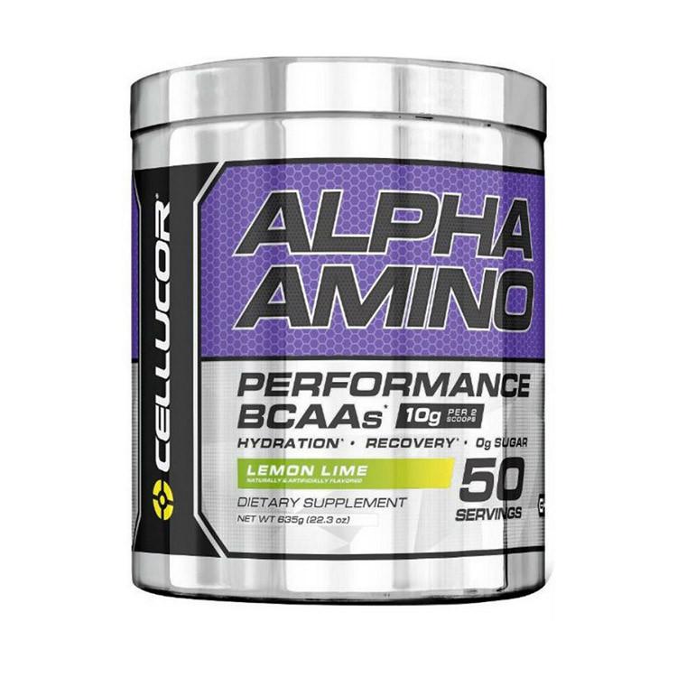 Комплекс аминокислот Cellucor ALPHA Amino 50 serv (635 г) icy blue razz