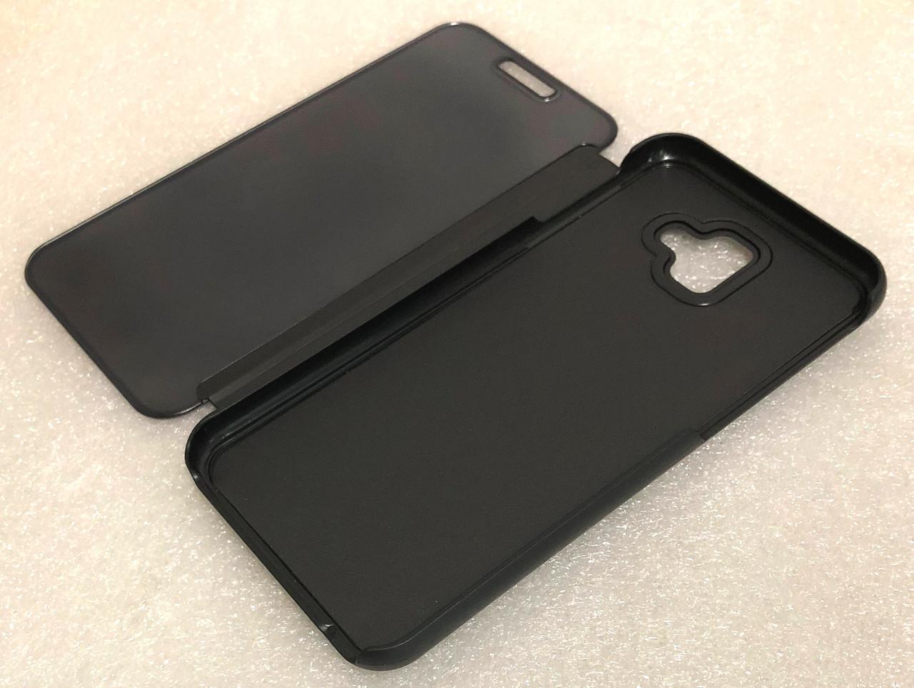 """Чохол книжка """"CLEAR VIEW..."""" для Samsung Galaxy J4 Plus (J415) / J4 Prime black"""