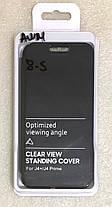 """Чохол книжка """"CLEAR VIEW..."""" для Samsung Galaxy J4 Plus (J415) / J4 Prime black, фото 3"""