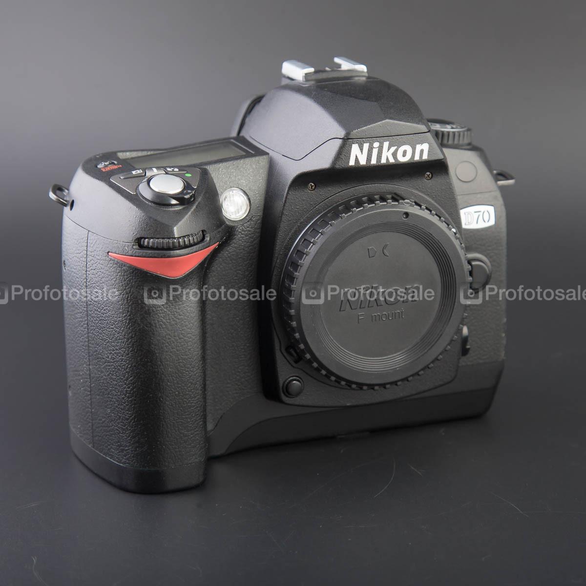 Nikon D70 kit AF-Nikkor 28 - 100mm 1:3.5 - 5.6 G