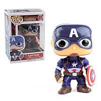 Фигурка супер герой Капитан Америка  - Captain America Pop Heroes Avengers