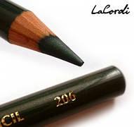 Карандаш для глаз LaCordi №206 Изумрудная зелень