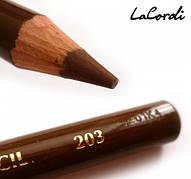 Карандаш для глаз LaCordi №203 Шоколад