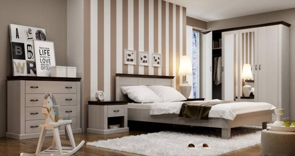 Спальня из массива дерева 024