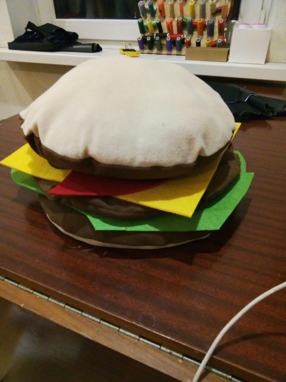 НОВЫЙ РЕКВИЗИТ!Гамбургер разборной!