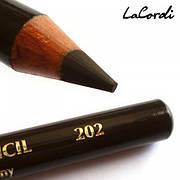 Олівець для очей LaCordi №202 Темно-коричневий