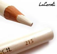 Карандаш для глаз LaCordi №215 Белый перламутровый