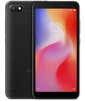 "Смартфон Xiaomi Redmi 6A Global 2/32Gb Black, 13+5/5Мп, 5.45"" IPS, 2SIM, 4G, 3000мАh, Helio A22, фото 1"