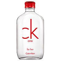 Женская туалетная вода Calvin Klein CK One Red Edition for Her
