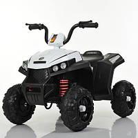 Детский электромобиль квадроцикл 131, EVA колёса, дитячий електромобіль, белый
