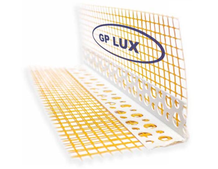 Угол ПВХ с сеткой 2,5м 7*7см GP LUX 145гр/м2 ORANGE