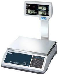 Весы электронные торговые CAS EM-15R