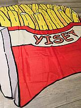 Пляжна Підстилка-Парео Картопля Фрі, фото 3