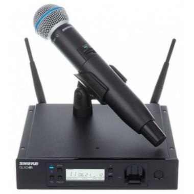 Беспроводная радиосистема Shure GLXD24RE, с ручным микрофоном BETA58