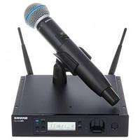 Беспроводная радиосистема Shure GLXD24RE, с ручным микрофоном BETA58, фото 1