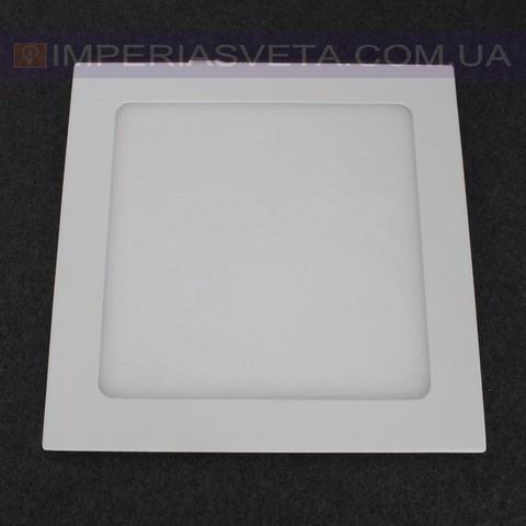 Светильник светодиодный дневного света IMPERIA панель 18W сверхтонкий квадрат встраиваемый LUX-523014