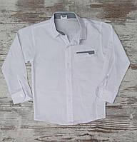 Рубашка для мальчиков белая. размер 11-14  лет.