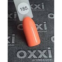 Гель-лак Oxxi № 185 яркий оранжевый, неоновый 10 ml