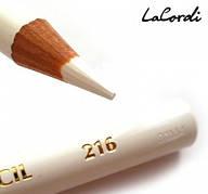 Олівець для очей LaCordi №216 Білий матовий