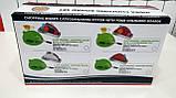 Набір складних обробних дощок з мірними ємностями і підставкою Index Chopping Board Set, всього 9 предметів , фото 10
