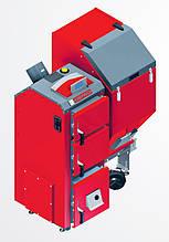 Котел твердотопливный Komfort Eko 25 кВт автоматическая и ручная загрузка DEFRO