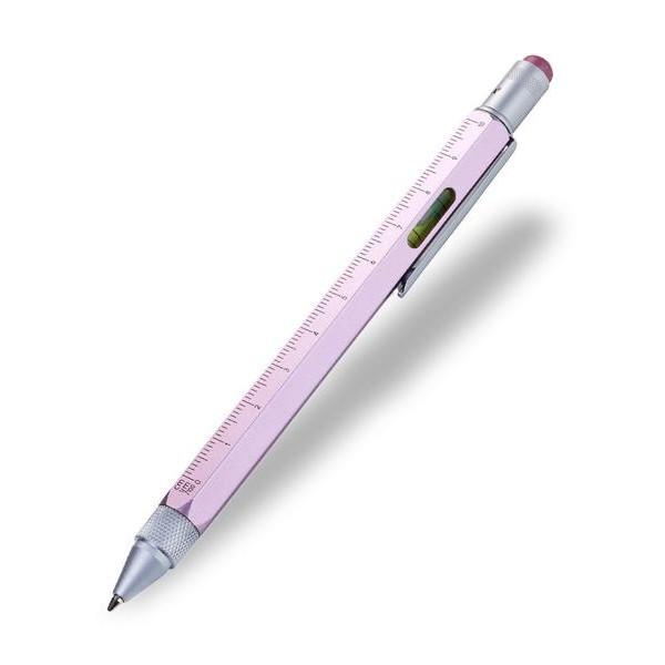 Ручка шариковая-стилус Construction с линейкой