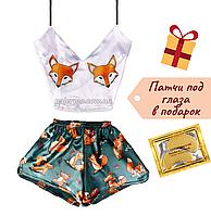 Пижама женская Fox Лиса шелковая