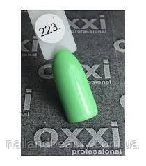 Oxxi № 223 светло-зеленый, эмаль 10 ml
