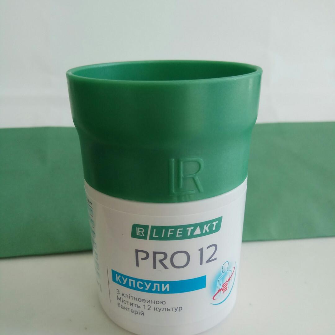 Пробиотик 12 штамов бактерий (Про 12, Pro 12), LR, 30 капсул