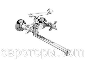 Смеситель для ванны CRON ZEUS 140 EURO Резина