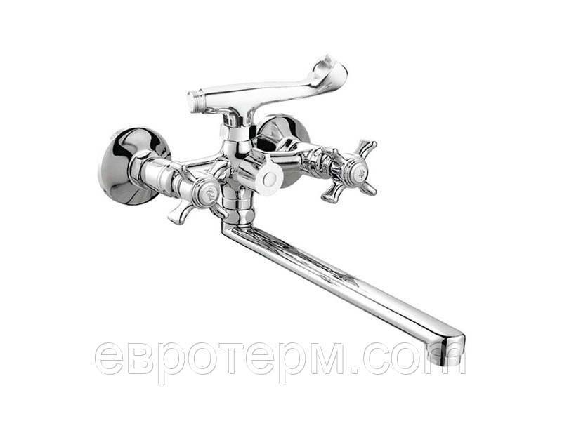 Змішувач для ванни CRON ZEUS 140 EURO Резина