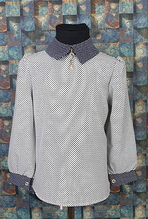 Блузка с длинным рукавом 116-134 , фото 2