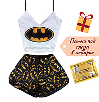 Пижама женская Batman шелковая