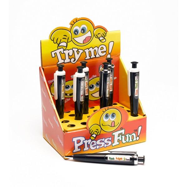 """Ручка-рулетка для взрослых """"Press Fun Pen"""""""