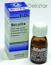 Biflu-Jen, 10мл біфторидний лак (Jen-Dental)