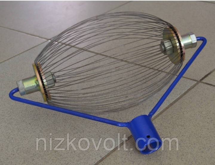 РОЛЛ - инструмент для уборки грецкого ореха, орехосборник, фото 1