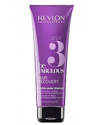 Шампунь для запаивания кутикулы (шаг 3) REVLON Be Fabulous Hair Recovery Step 3 Cuticle Sealer Shampoo 250 мл